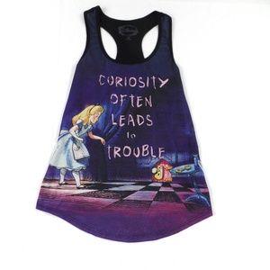 Disney Alice in Wonderland Tank Top M